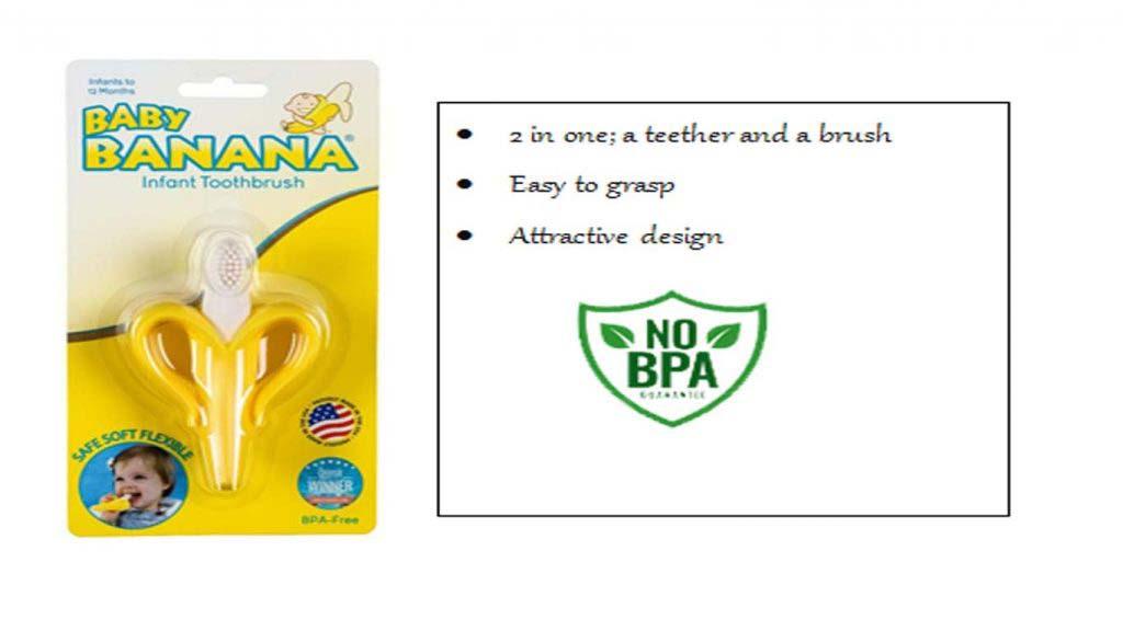 Banana Toothbrush for Babies