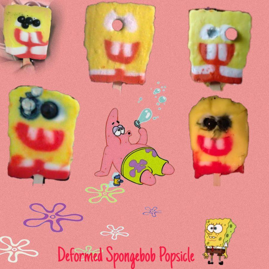 Deformed Spongebob Popsicle 5 images