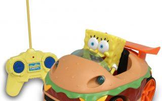 SpongeBob SquarePants NKOK Remote Control Krabby Patty Vehicle